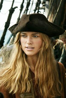 Тест Пираты Карибского моря - выбор Элизабет