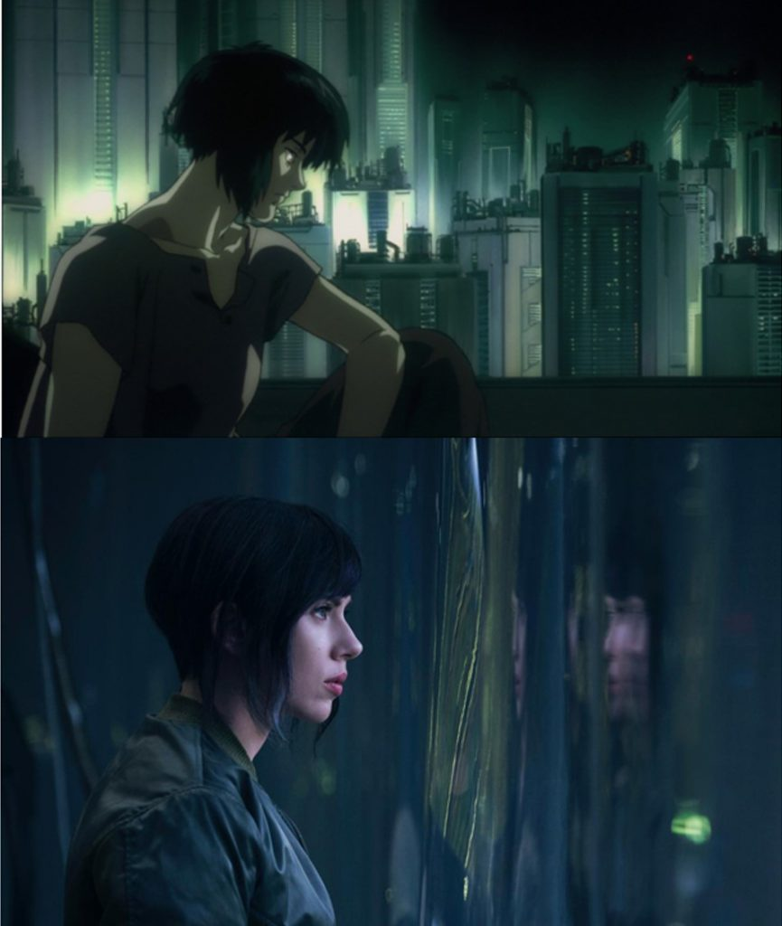 Ghost in the Shell anime transhumanism 6