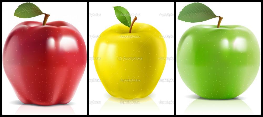 Картинка для Твоё яблоко по характеру.