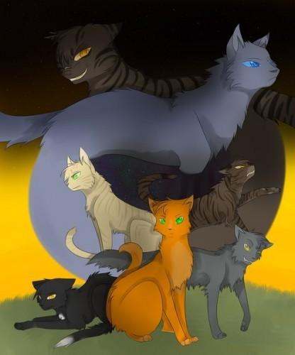 Первый цикл котов воителей