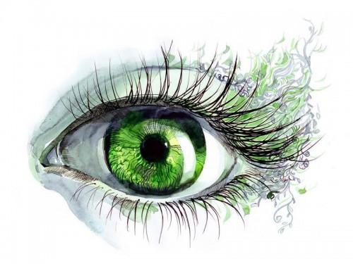 Тест на цвет глаз