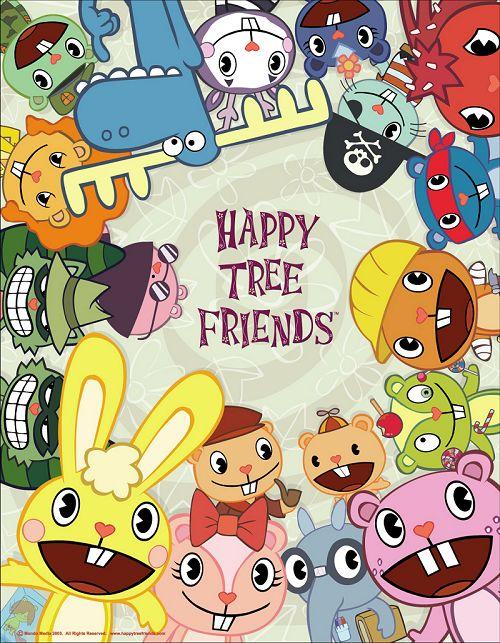 """Картинка для На кого из главных героев мультсериала """"Happy Tree Friends"""" ты похожа?"""