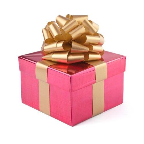 Коробка с подарком в png 753