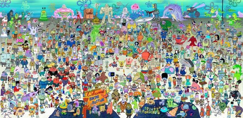 Все персонажи губки боба картинки самый лучший фильм уиллом смитом