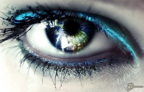 Красивый глаз