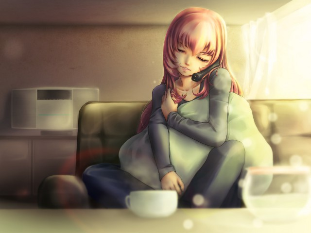 Картинка для Красивые аниме арты девушек
