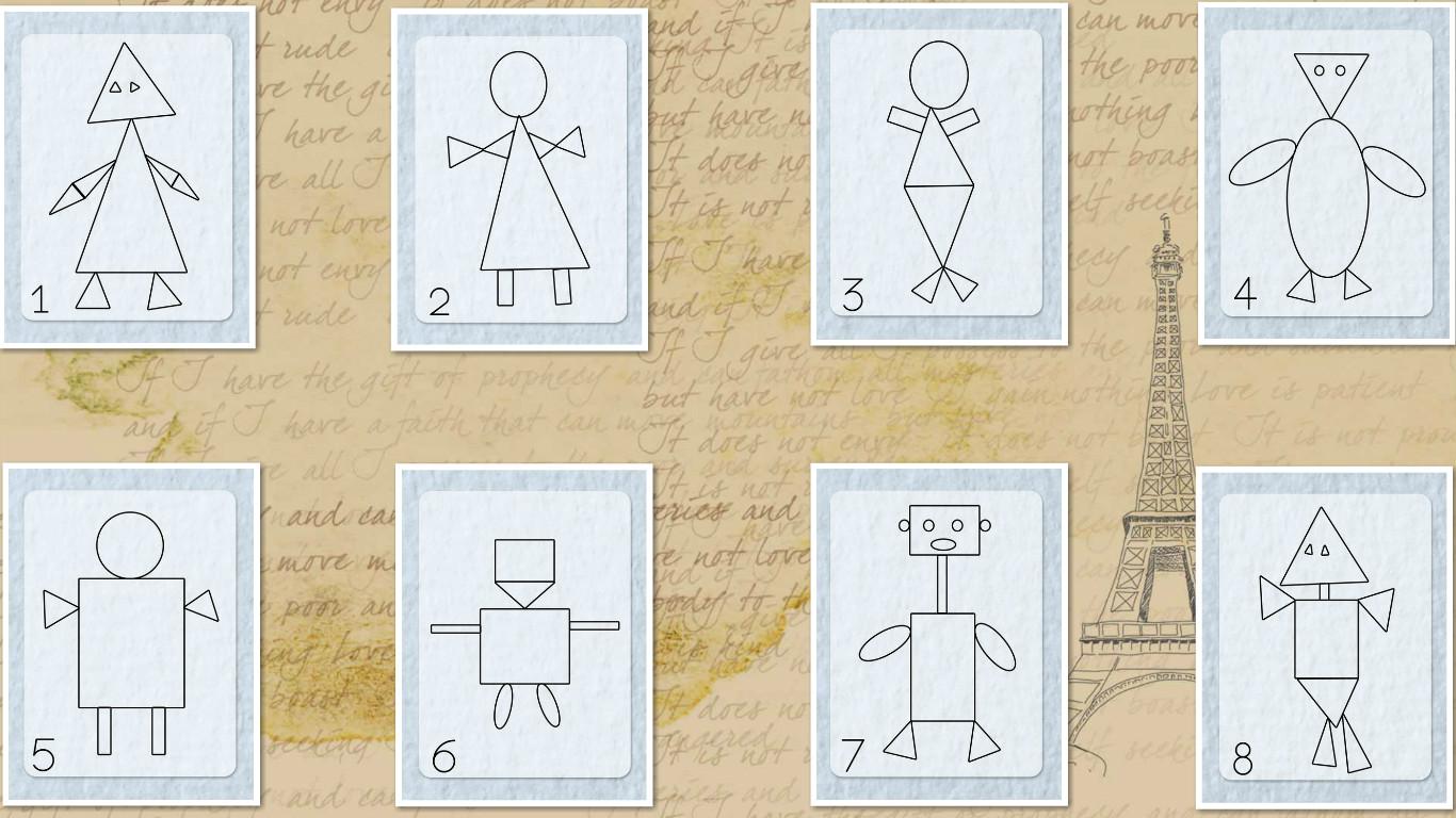 Тест с выбором картинок определение личности