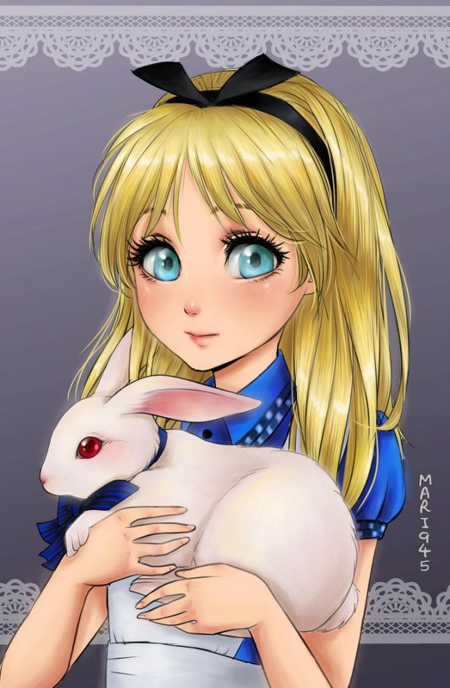 картинки аниме дисней принцессы
