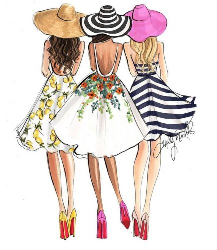 Fashion+Illustrations+of+street+fashion+bloggers+by+houston+fashion+illustrator+Rongrong+DeVoe