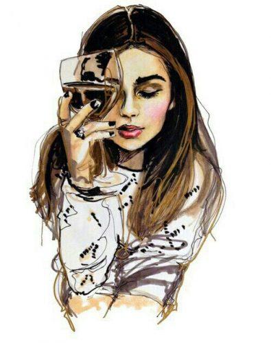 drawing-drink-girl-wine-Favim.com-2372241
