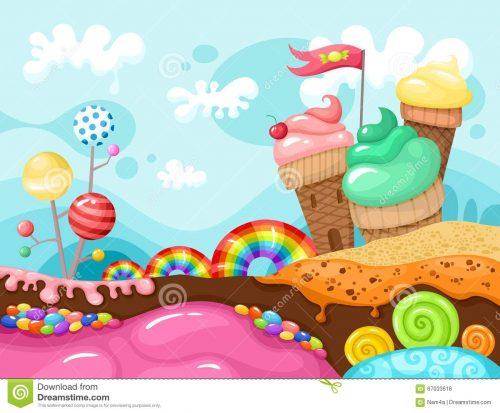 Мир сладостей