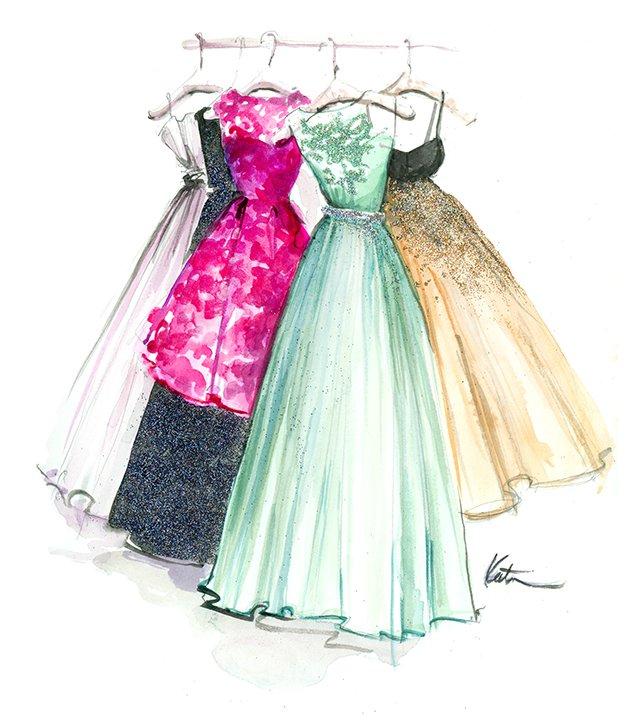 Картинка для Какое твое идеальное платье?