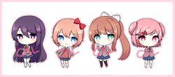 Картинка для Как хорошо ты знаешь персонажей из Doki Doki Literature Club