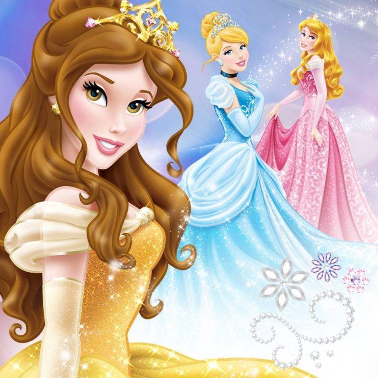 Картинки принцесс по одной