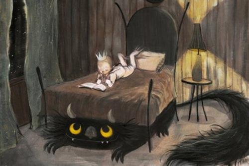 Картинка для Анкета монстрика под вашей кроватью)