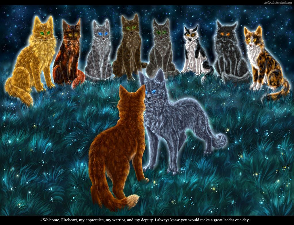 коты воители герои племен это первое, что