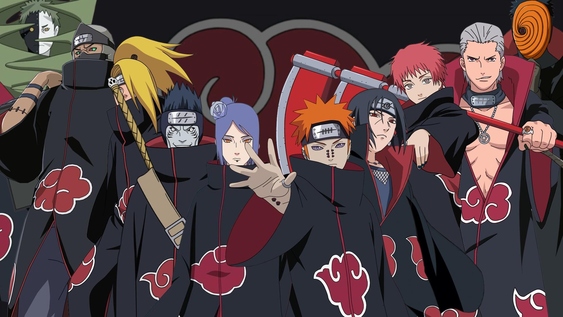 Все персонажи акацуки