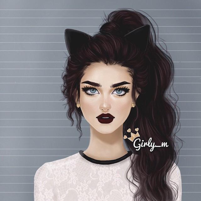 картинки аватарки девушки