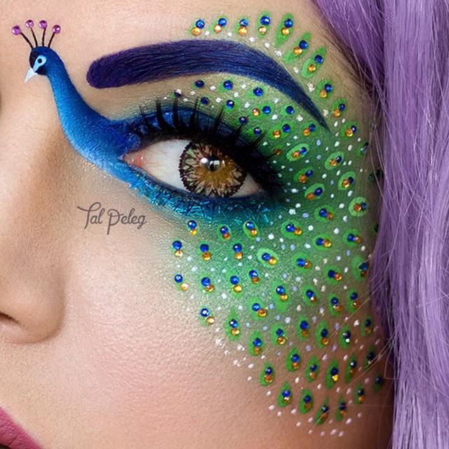 Картинка для Необычный макияж