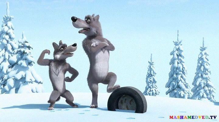 Картинка для Как хорошо ты знаешь волков из «Маша и Медведь»?