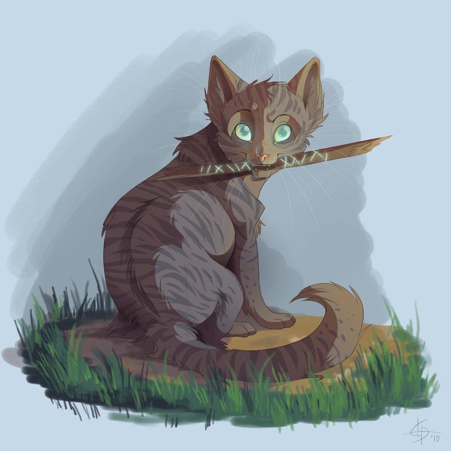 Картинка для Стала Целительницей…(Коты-Воители)