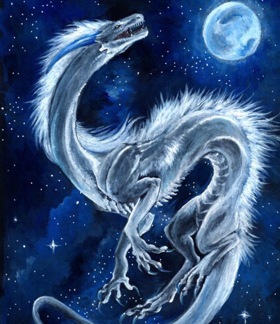 Сказки для взрослых.Девочка и дракон.   1294x1118