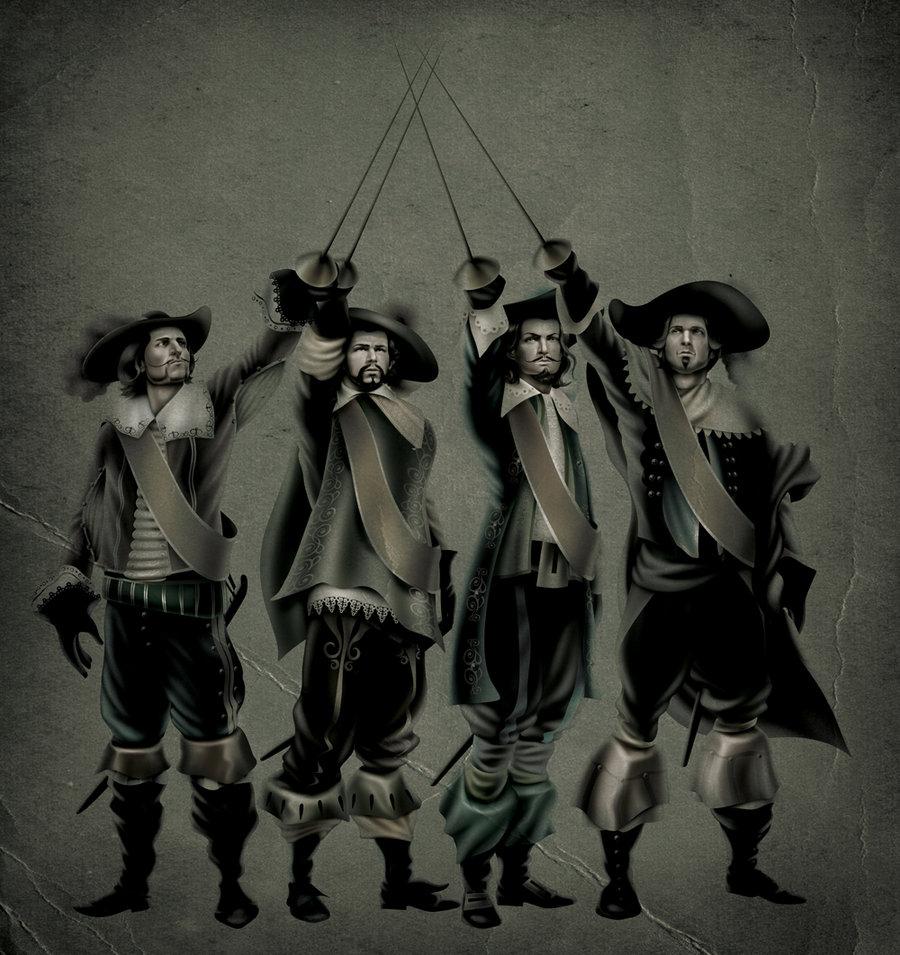"""Картинка для Как хорошо ты знаешь """"Три мушкетёра""""?"""
