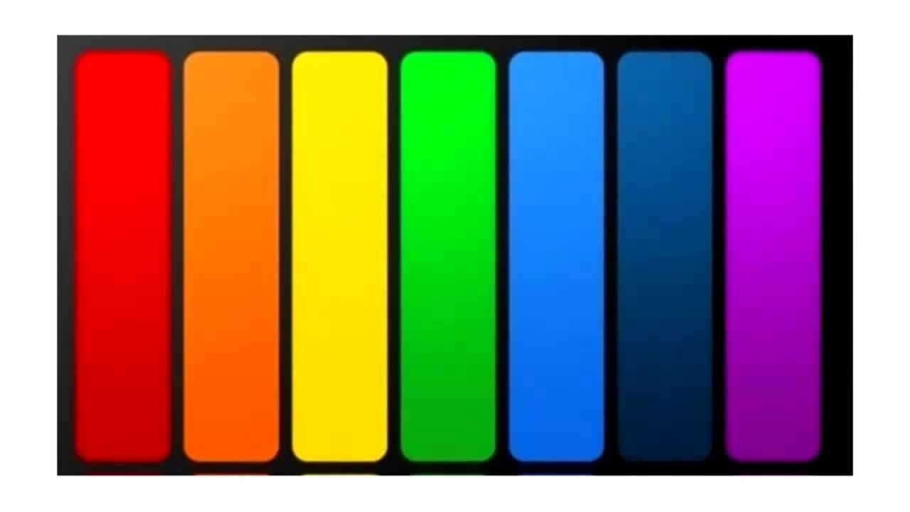 Тест по любимым цвет