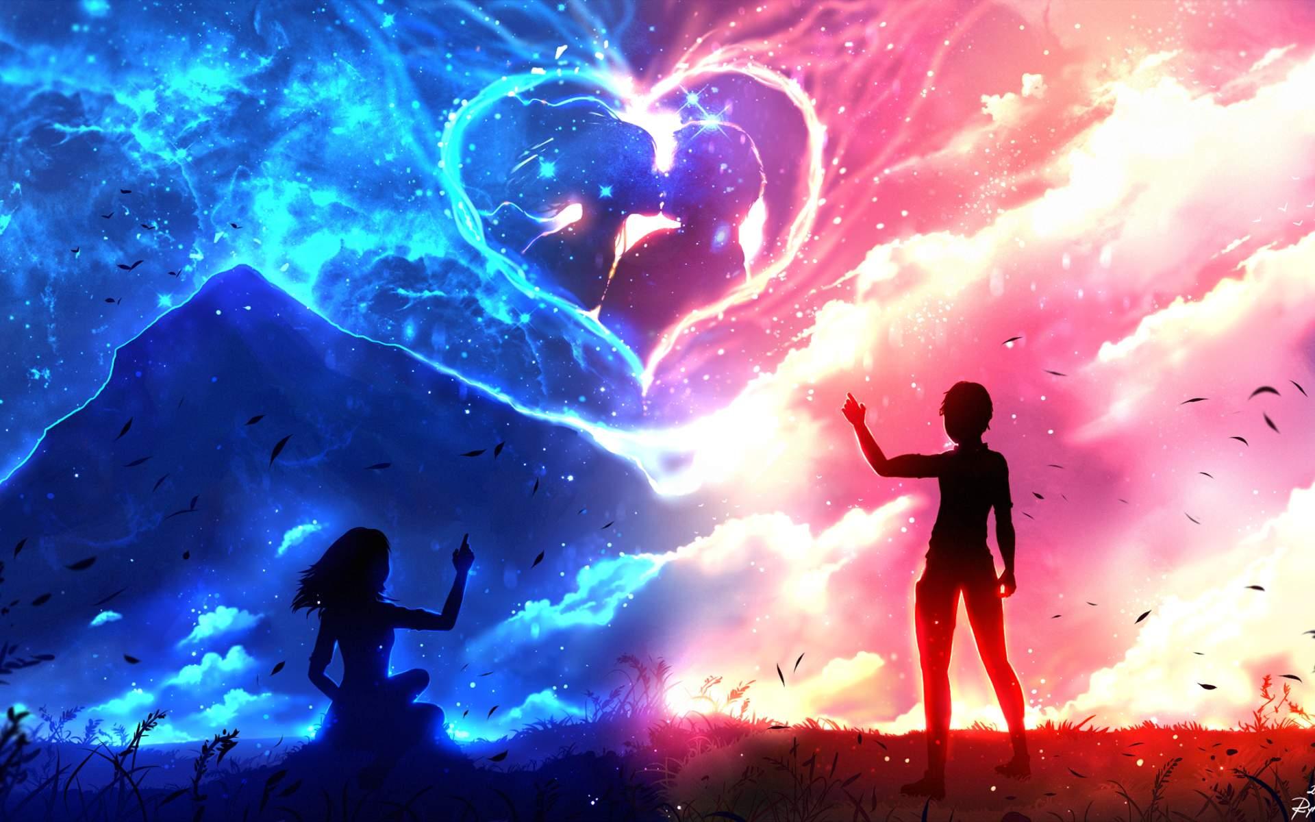Картинка для Милые аниме парочки