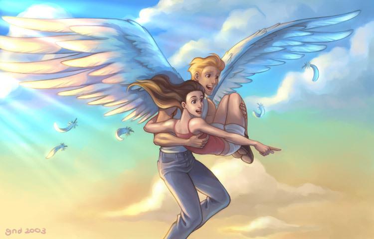 что картинки ангела обнимающего крыльями бывалых коллекционеров