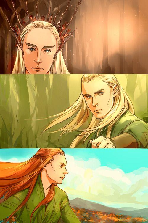 Картинка для ✼ На кого из эльфов Лихолесья ты больше всего похожа? ✼