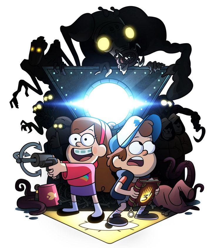 Картинка для Отношение персонажей Гравити Фоллз к новому персонажу(к тебе)