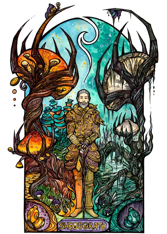 Картинка для • Oblivion Shivering Isles. Две грани Безумия •