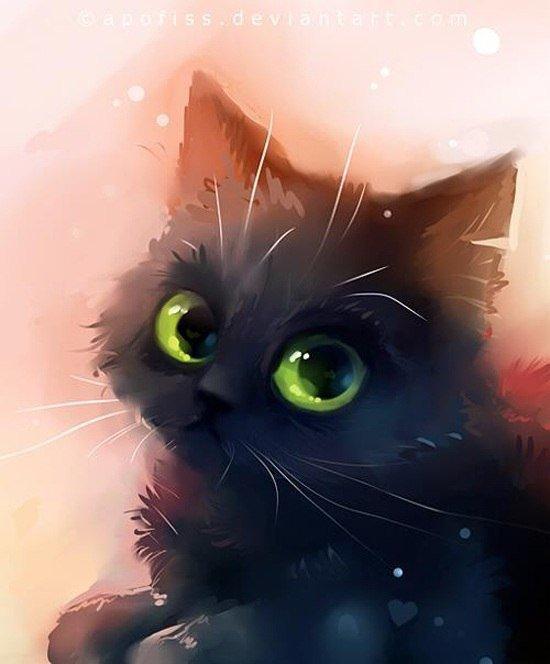 картинки кошек и котят няшки вариант