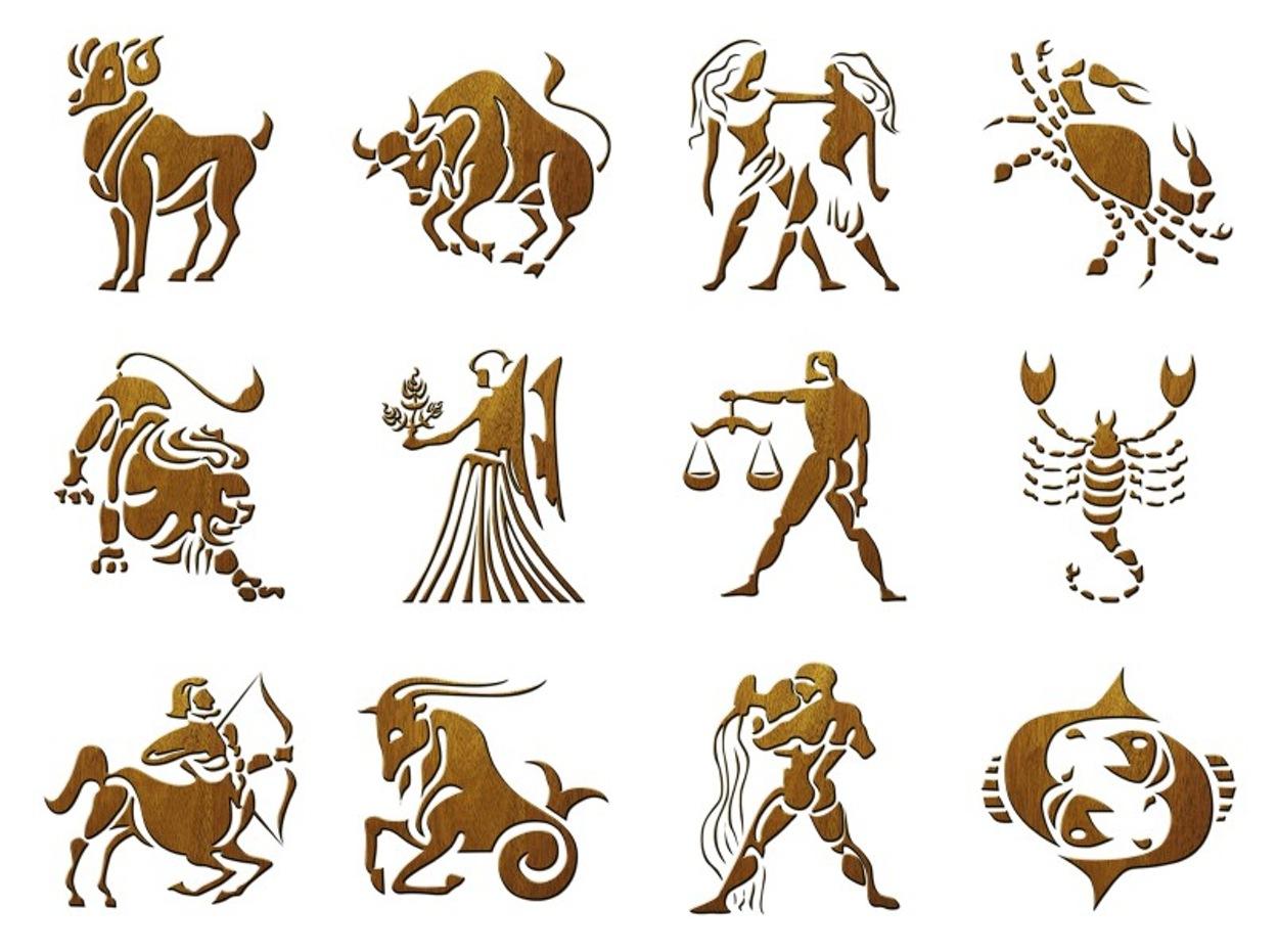 Картинка со знаками зодиака, родам