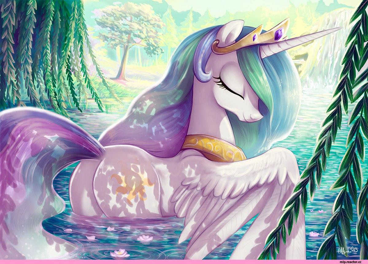 Картинка для Аватарки с принцессой Селестией
