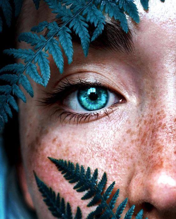 Картинка для :Голубые глаза становятся…