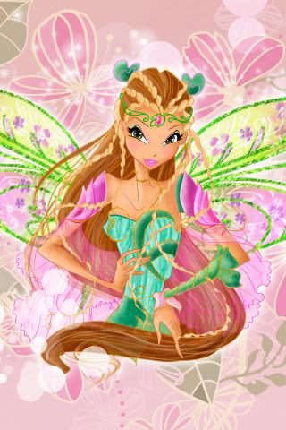 Картинка для Все виды трансформации Флоры из Винкс!