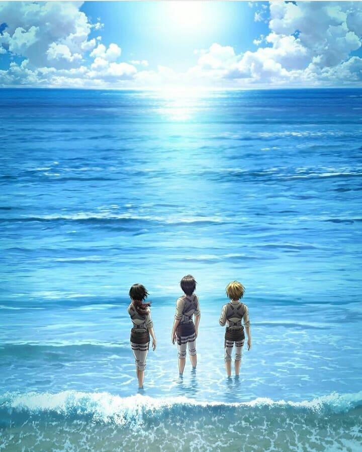 Картинка для Я слышу океан… /(Атака титанов)