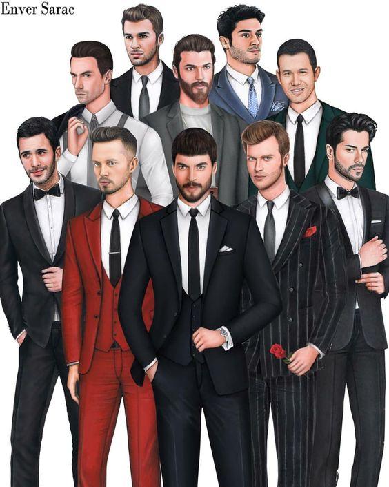 Картинка для Какой из турецких актёров тебе подходит ?😍