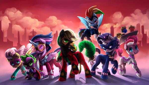 """Картинка для ▅◈My Little Pony:Каким супергероем из комикса """"Могучие пони"""" ты могла бы быть?◈▅"""