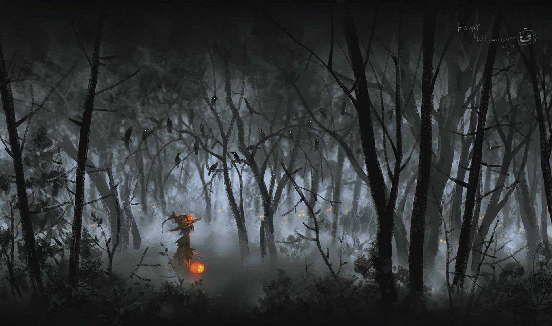 Картинка для 🎃 Halloween Night — время призраков 🎃