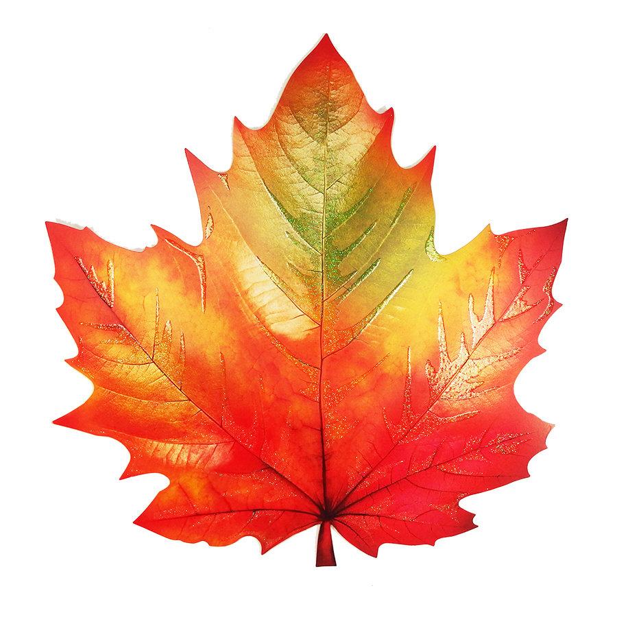 картинки осенний листок можно
