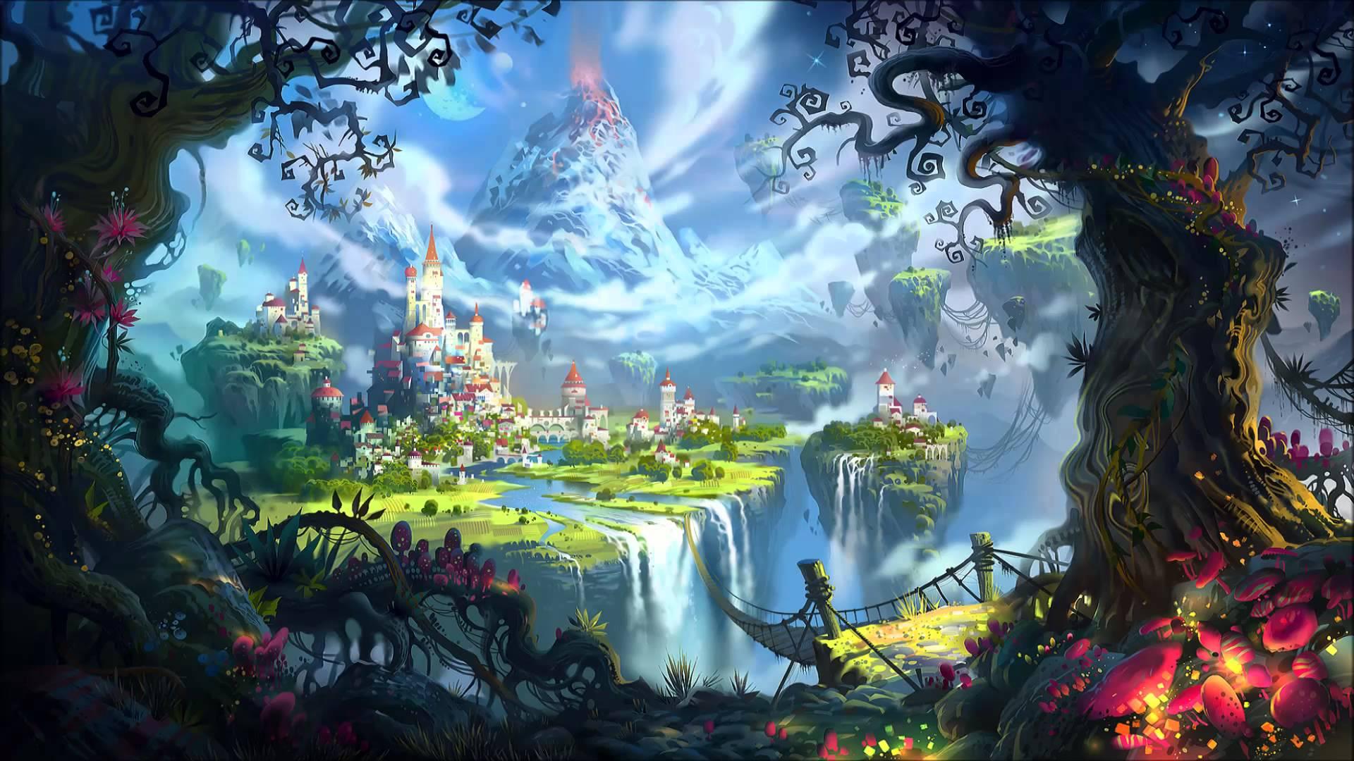 Волшебная страна сказок картинка