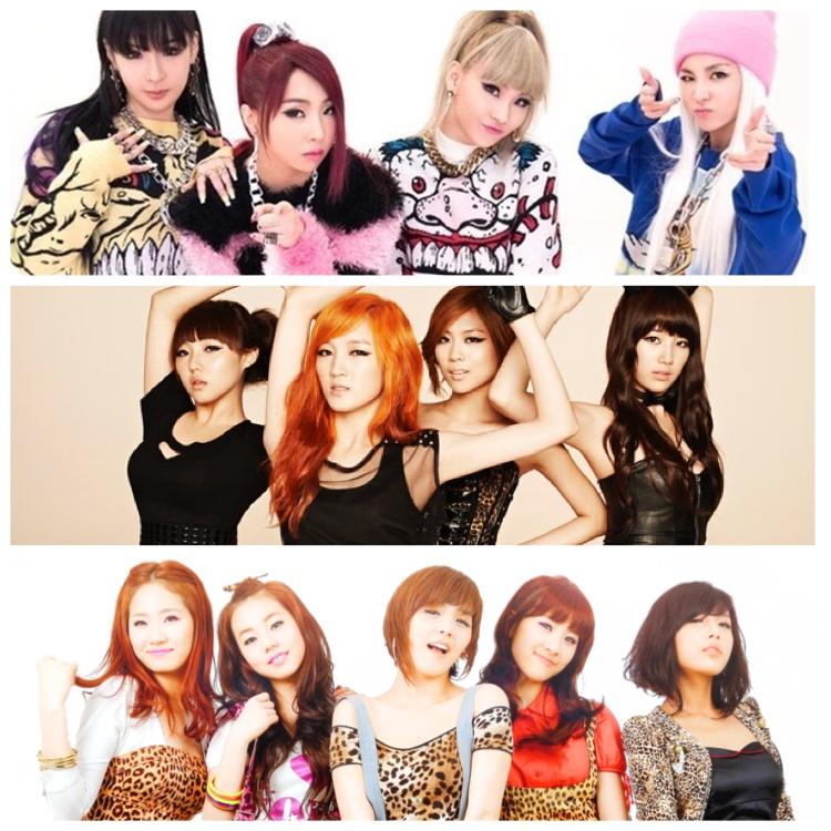 Картинка для Как хорошо ты знаешь старые женские K-pop группы