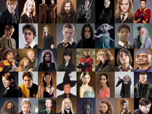 рамка гарри поттер все герои и их названия там было, полученный