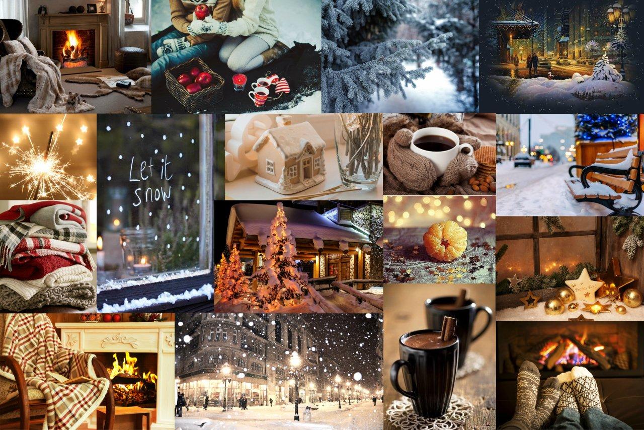 Фотоколлаж на новый год фото