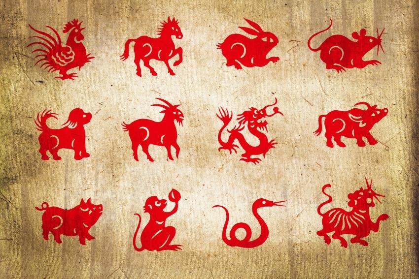 Рисунки животных по восточному календарю