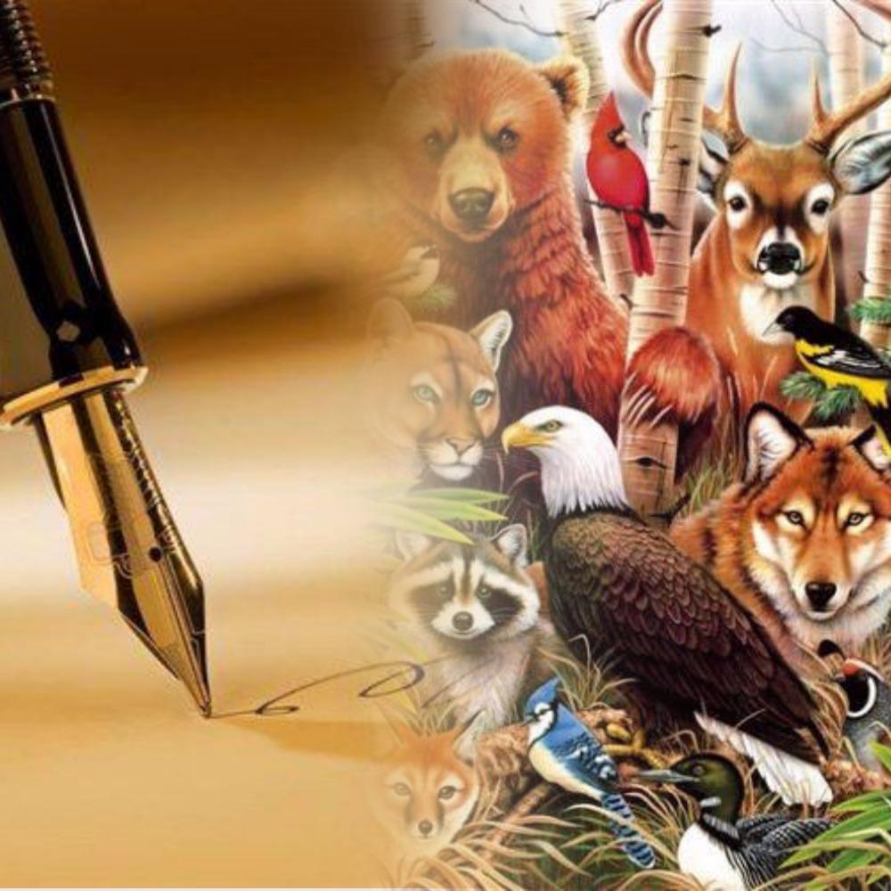 Картинка для Твоё стихотворение про животного
