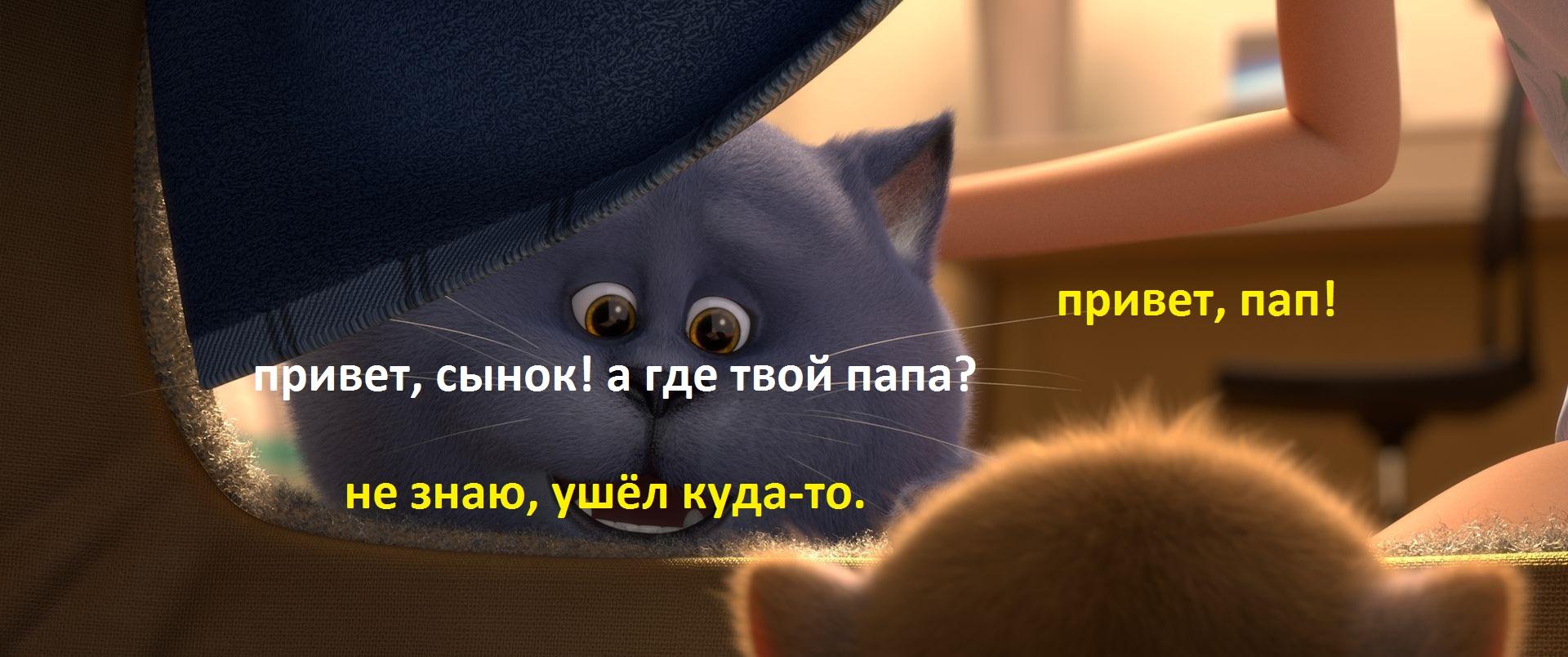 Картинка для Самодельные приколы с мультиком Большой кошачий побег